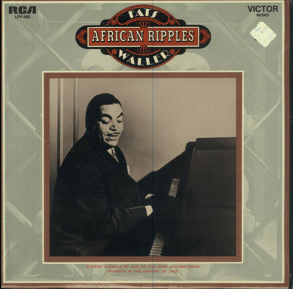 "Fats Waller ""African Ripples"" VG+ 1969 *MONO*"