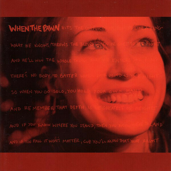 """Fiona Apple """"When The Pawn..."""" *CD* 1999"""