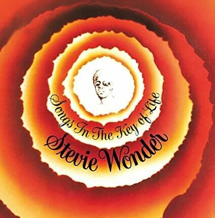 "Stevie Wonder ""Songs In The Key Of Life"" EX+ 1976 {2xLPs!} *w/booklet*"