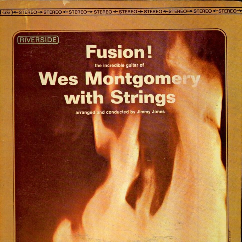 "Wes Montgomery ""Fusion!"" VG+ 1963 *MONO*"