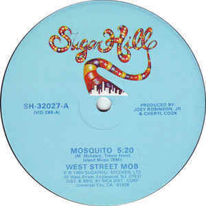 """West Street Mob """"Mosquito"""" {12""""} VG+ 1984"""
