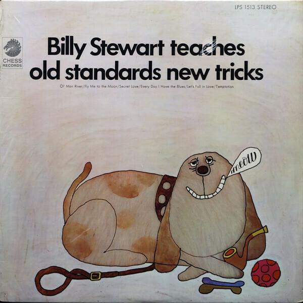 """Billy Stewart """"...Teaches Old Standards New Tricks"""" EX+ 1967 *MONO*"""