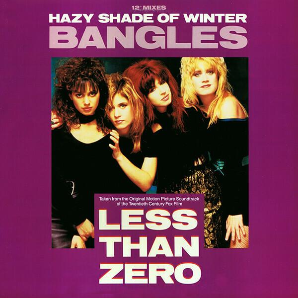"""Bangles """"Hazy Shade Of Winter"""" {12""""} VG+ 1988 *SW/DNAP*"""