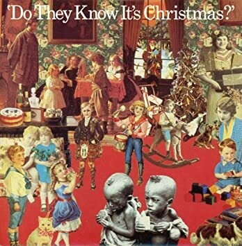 "Band Aid ""Do They Know It's Christmas?"" EX+ 1984"