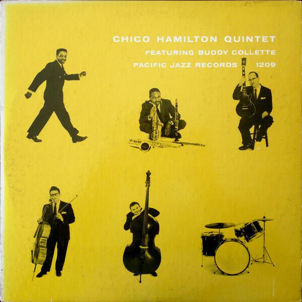 """Chico Hamilton Quintet """"Chico Hamilton Quintet"""" VG 1955 *MONO*"""