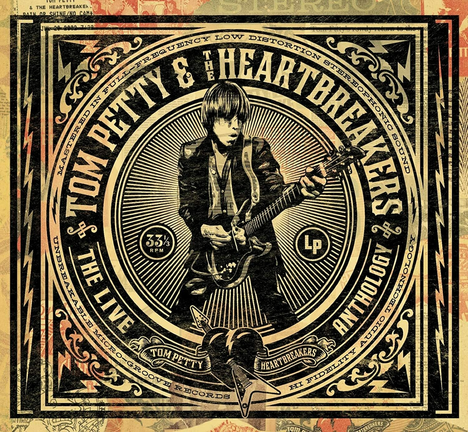 "Tom Petty & The Heartbreakers ‎""The Live Anthology"" *CD* 2009"
