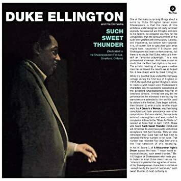 "Duke Ellington & His Orchestra ""Such Sweet Thunder"" VG- 1957 *MONO*"