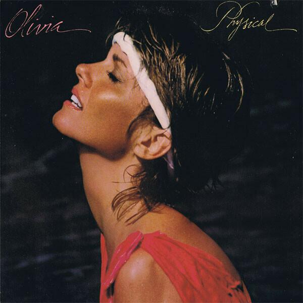 """Olivia Newton-John """"Physical"""" EX+ 1981 *w/poster!*"""