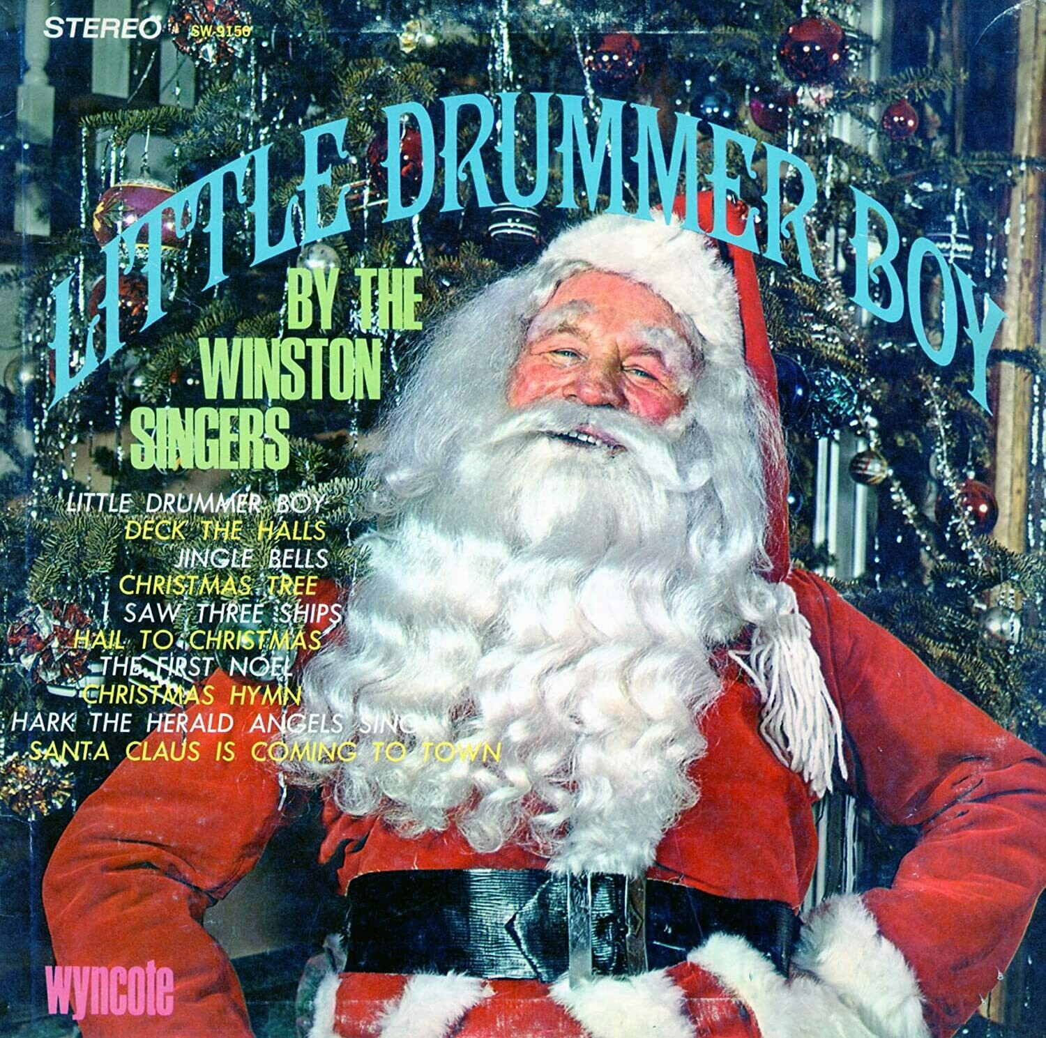 "The Winston Singers ""Little Drummer Boy"" VG+ 1966 *MONO*"