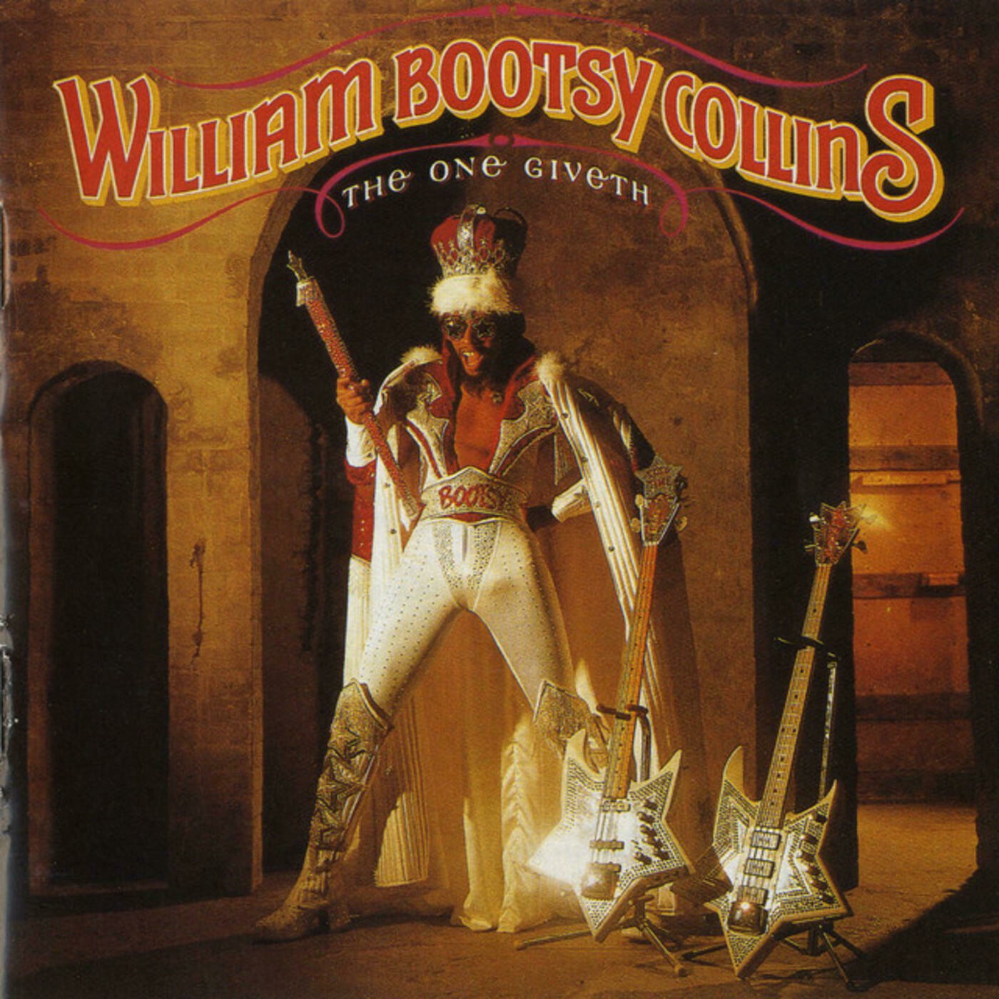 """Bootsy Collins """"The One Giveth, The Count Taketh Away"""" VG+ 1982"""
