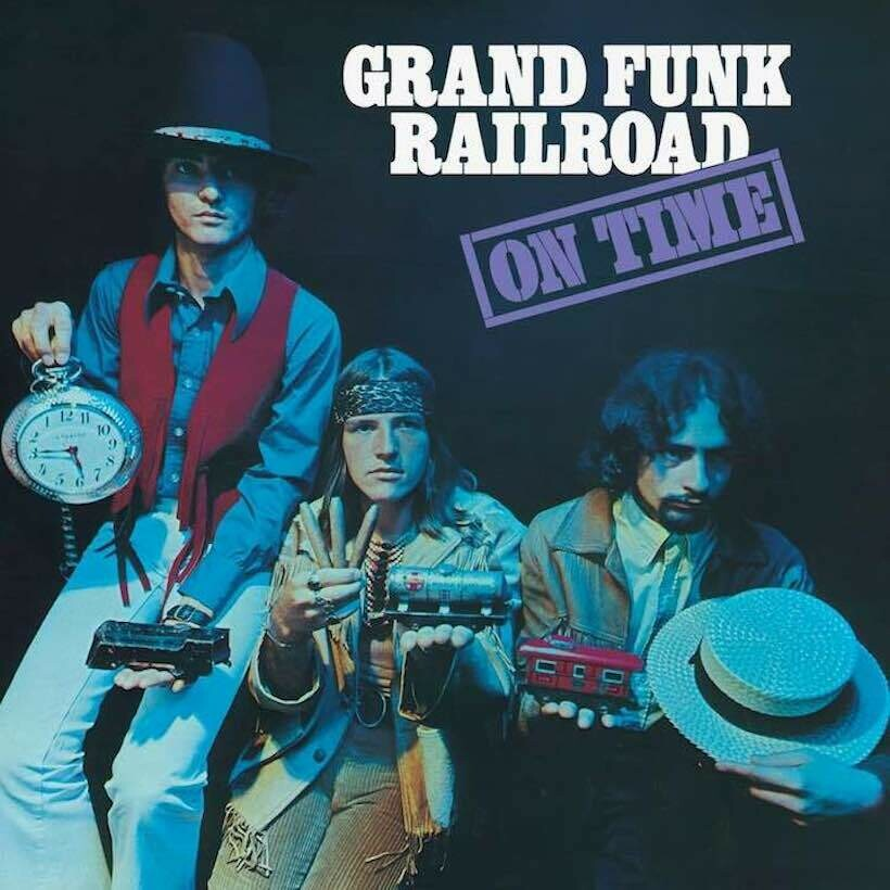 "Grand Funk Railroad ""On Time"" VG+ 1969"