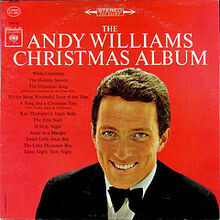 "Andy Williams ""Merry Christmas"" EX+ 1965"