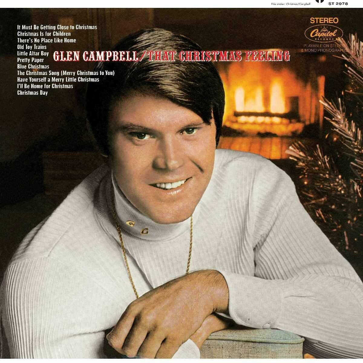 """Glen Campbell """"That Christmas Feeling"""" VG 1968"""