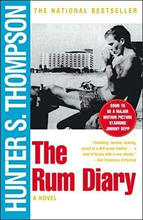 "Hunter S. Thompson ""The Rum Diary"" *BOOK* 1998"