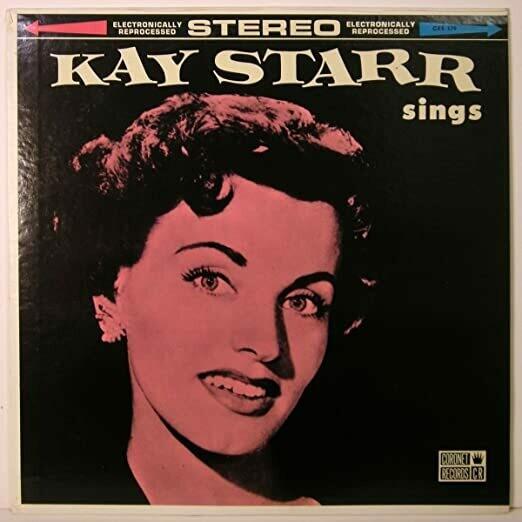 "Kay Starr ""Kay Starr Sings Volume 2"" VG 1962"