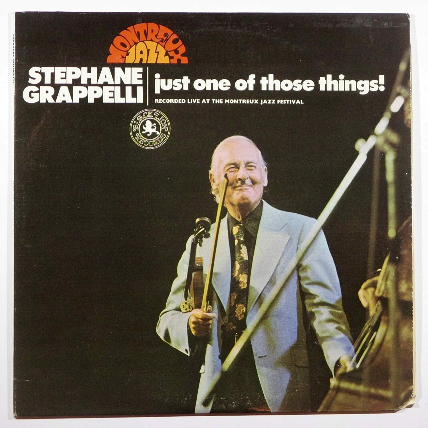 "Stephane Grappelli ""Just One Of Those Things!"" EX+ 1973"