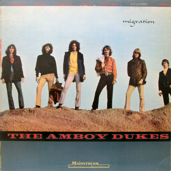 "The Amboy Dukes ""Migration"" (G+) 1969"