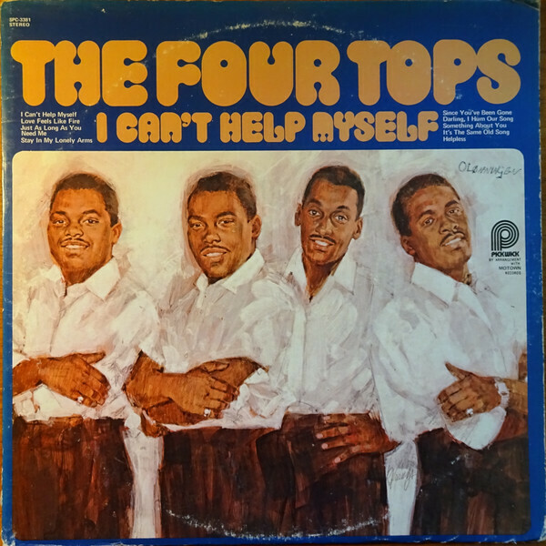 "The The Four Tops ""I Can't Help Myself"" EX+ 1974"