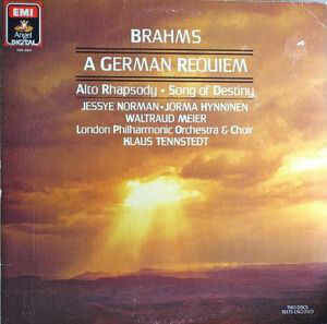 "Brahms ""A German Requiem"" NM- 1986 {2xLPs!}"