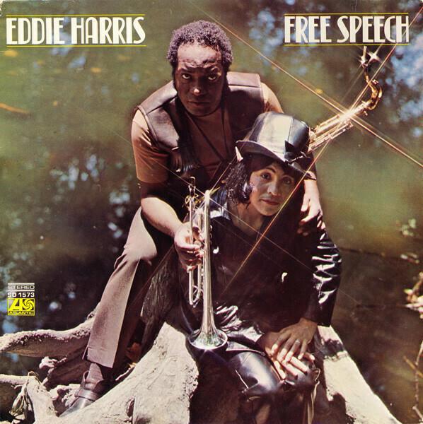 """Eddie Harris """"Free Speech"""" VG+ 1970"""