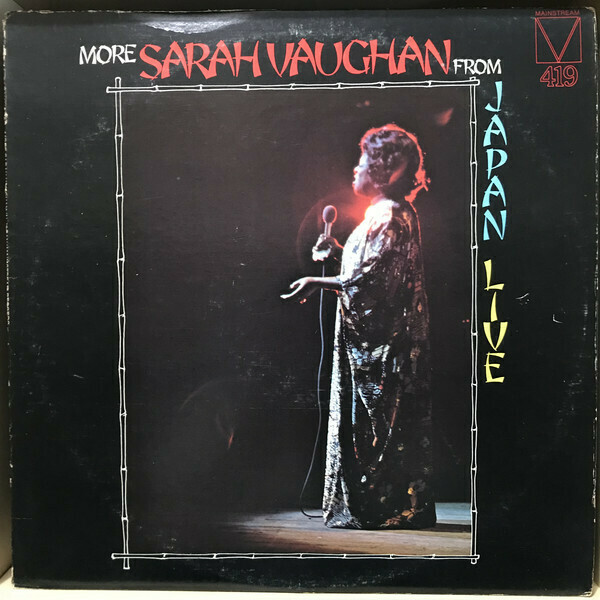 "Sarah Vaughan ""More... From Japan Live"" EX+ 1975"