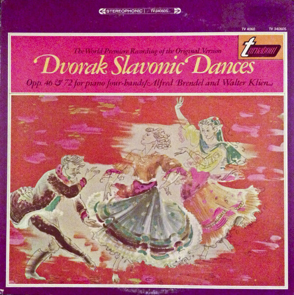 "Dvorak ""Slavonic Dances, Opp. 46 & 72"" VG+ 1959/re.1967 [r4370127]"