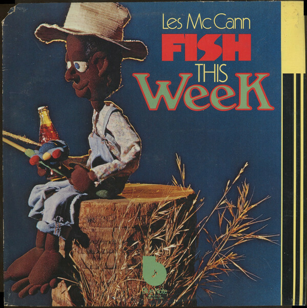 "Les McCann ""Fish This Week"" VG+ 1973 {2xLPs!}"