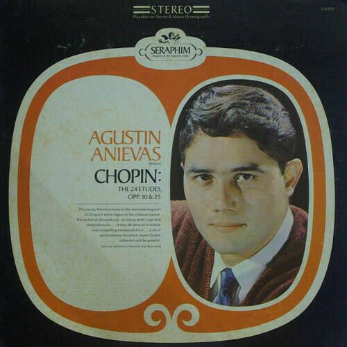 "Chopin ""The 24 Etudes, Op. 10 & 25"" EX+ 1968"
