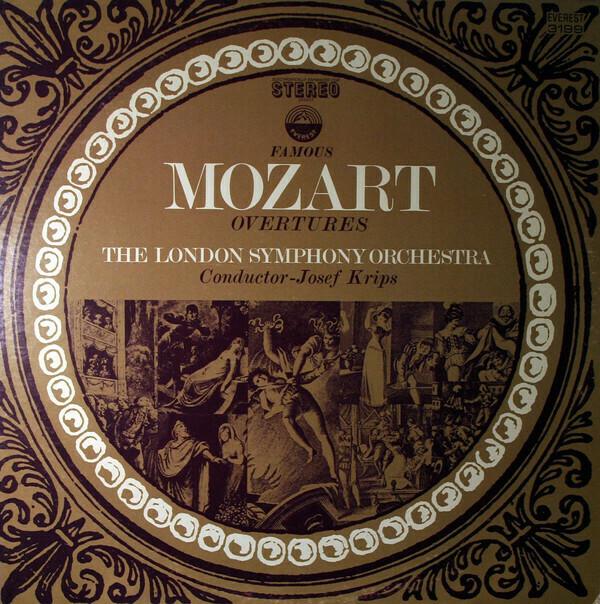 """Mozart """"Famous Mozart Overtures"""" EX+ 1970"""