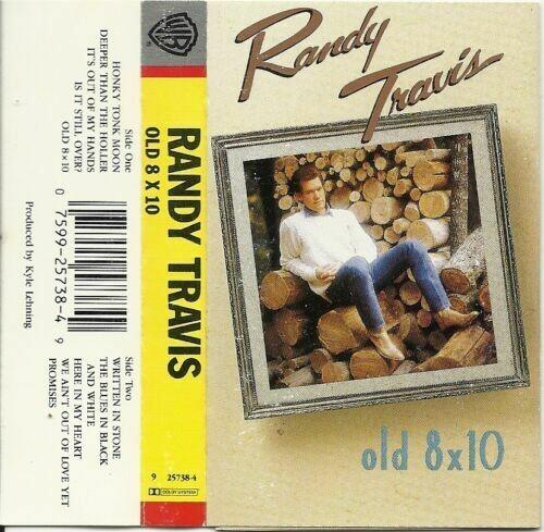 "Randy Travis ""Old 8x10"" *TAPE* 1988"