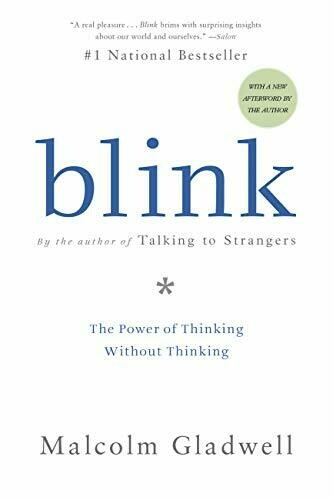 """Malcolm Gladwell """"Blink"""" *BOOK* 2005"""