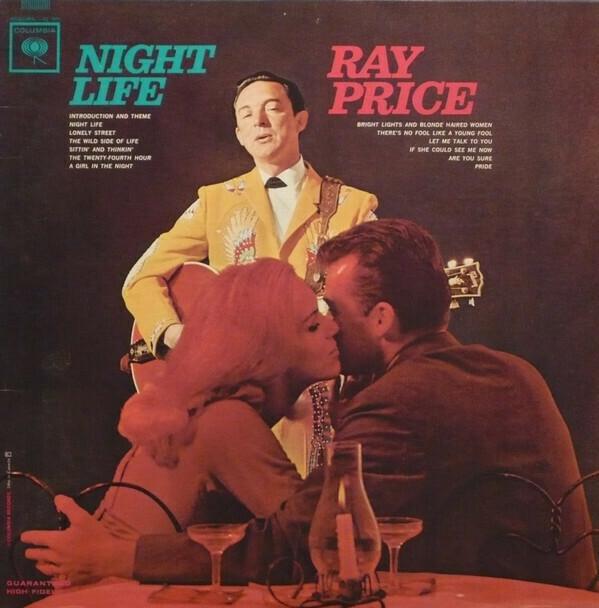 """Ray Price """"Night Life"""" VG+ 1963 *MONO*"""