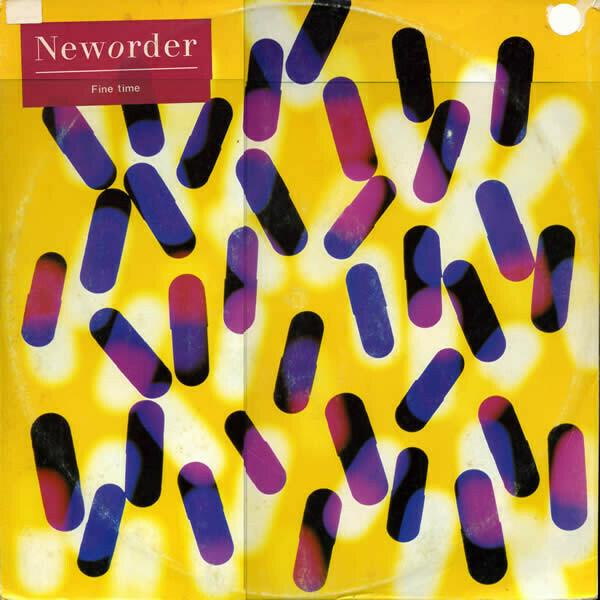 "New Order ""Fine Time"" {12""} VG+ 1989"