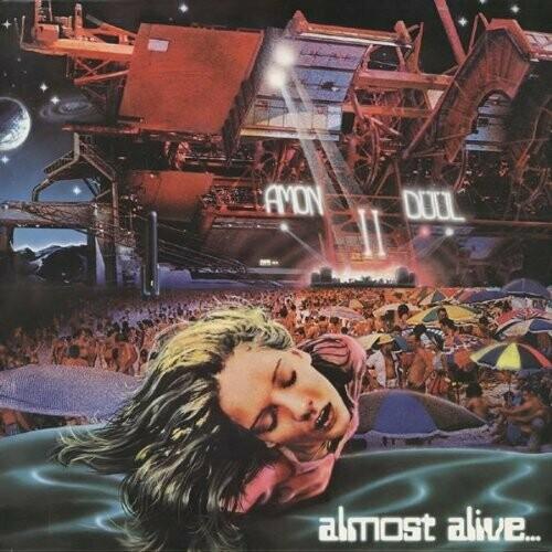 """Amon Düül II """"Almost Alive..."""" NM 1977 {German press!}"""