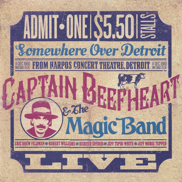 "Captain Beefheart & The Magic Band ""Somewhere Over Detroit"" NM 2015 {2xLPs!}"