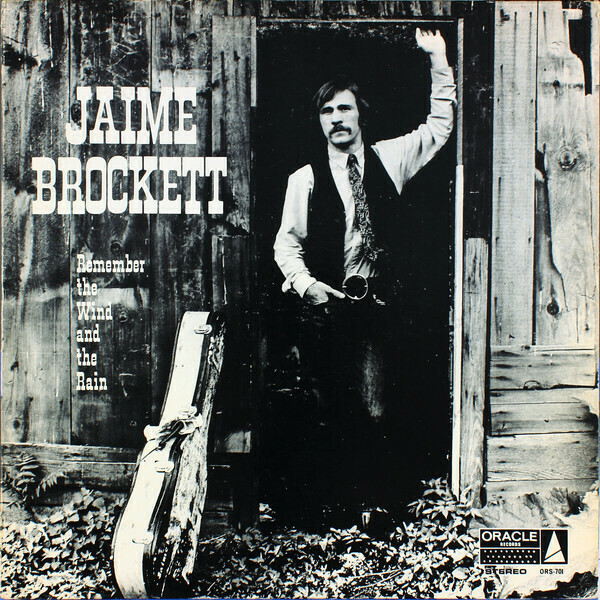 "Jaime Brockett ""Remember The Wind And The Rain"" EX+ 1968/re.1976"