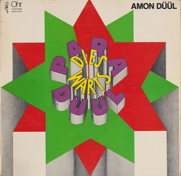 """{DSCGS} Amon Düül """"Paradieswärts Düül"""" NM 2008"""