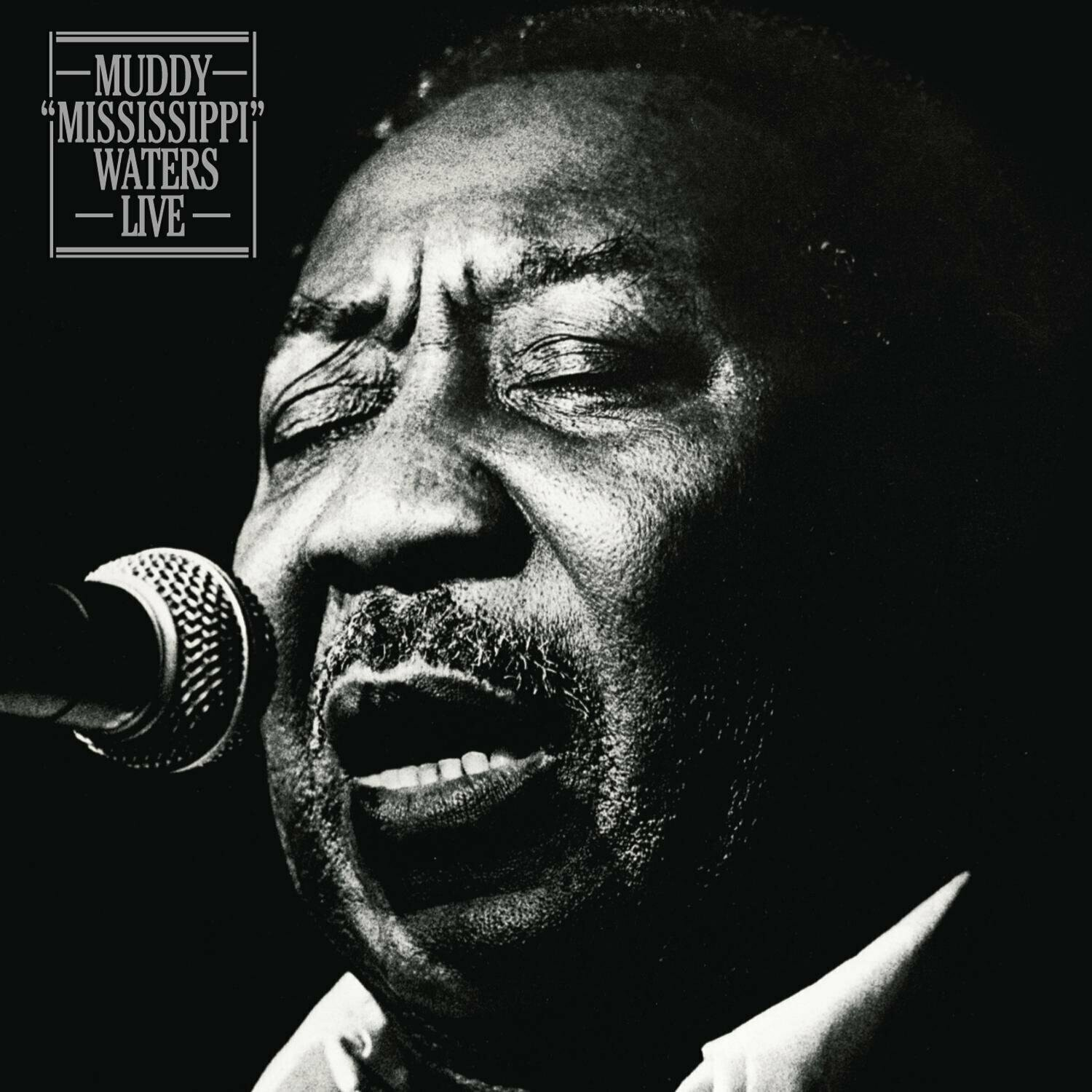 """Muddy Waters """"Muddy 'Mississippi' Waters Live"""" EX+ 1979"""