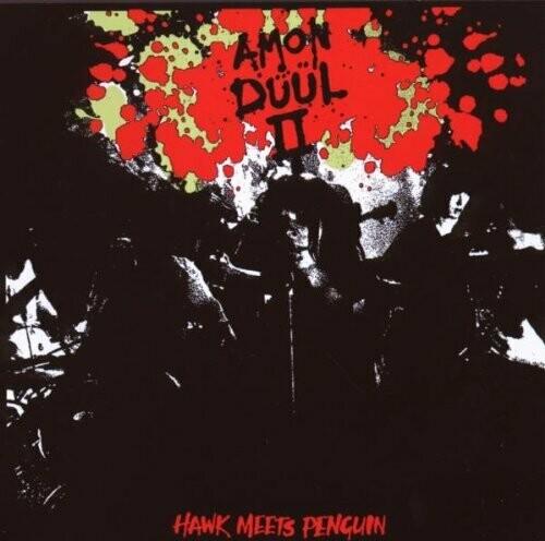 "Amon Düül II ""Hawk Meets Penguin Volume 1"" VG+ 1982/re.1986 *UK press!*"