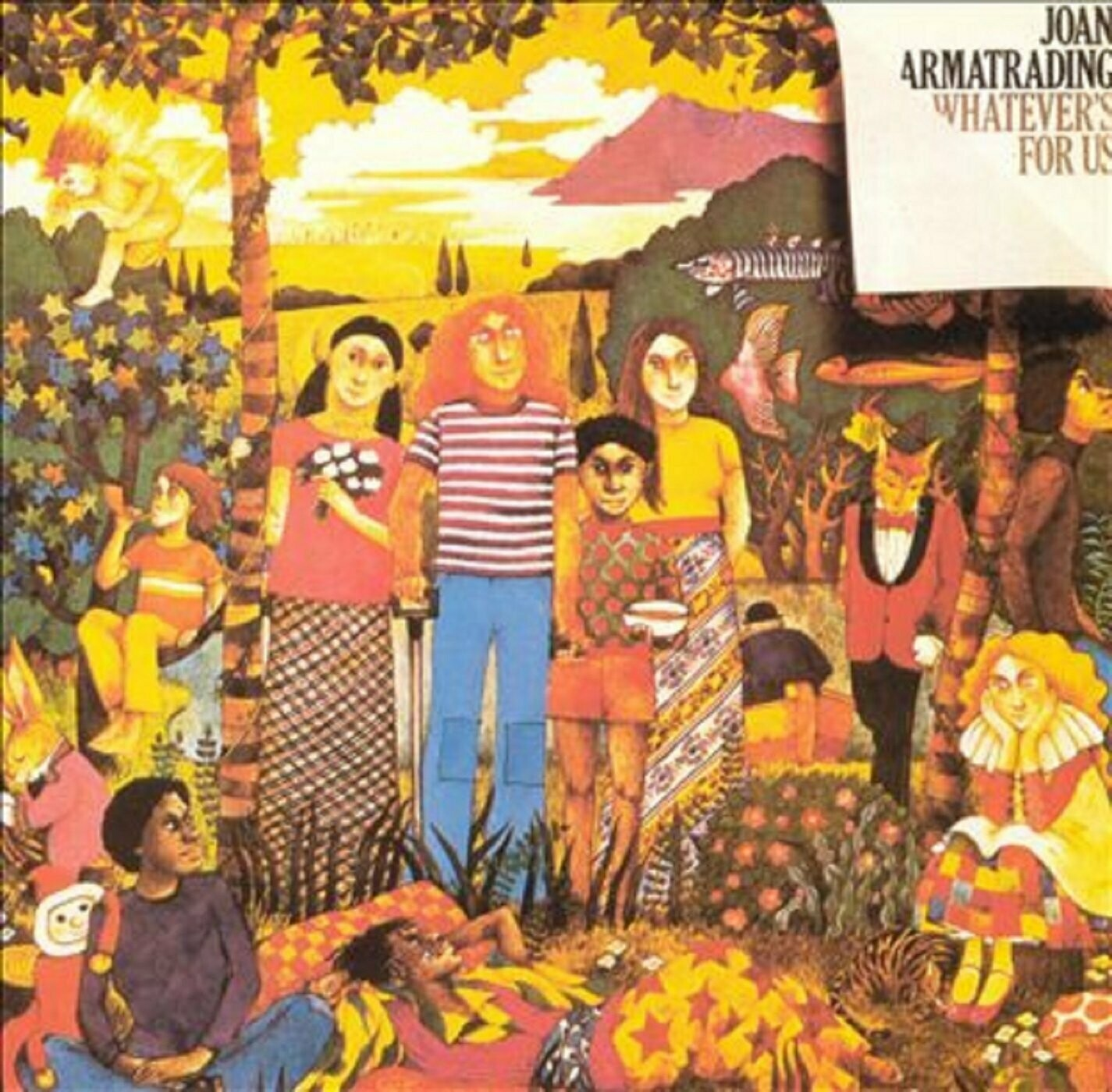 "Joan Armatrading ""Whatever's For Us"" EX+ 1972"