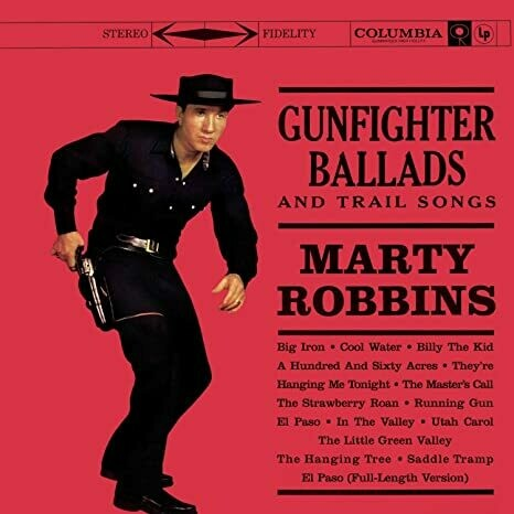 "Marty Robbins ""Gunfighter Ballads & Trail Songs"" NM 1959/re.1971"
