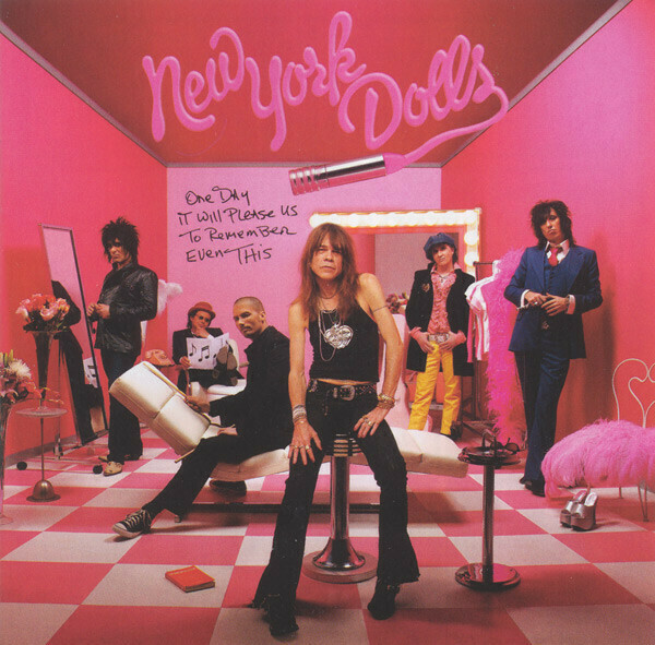 "New York Dolls ""One Day It Will Please Us..."" NM 2006 {2xLPs!}"