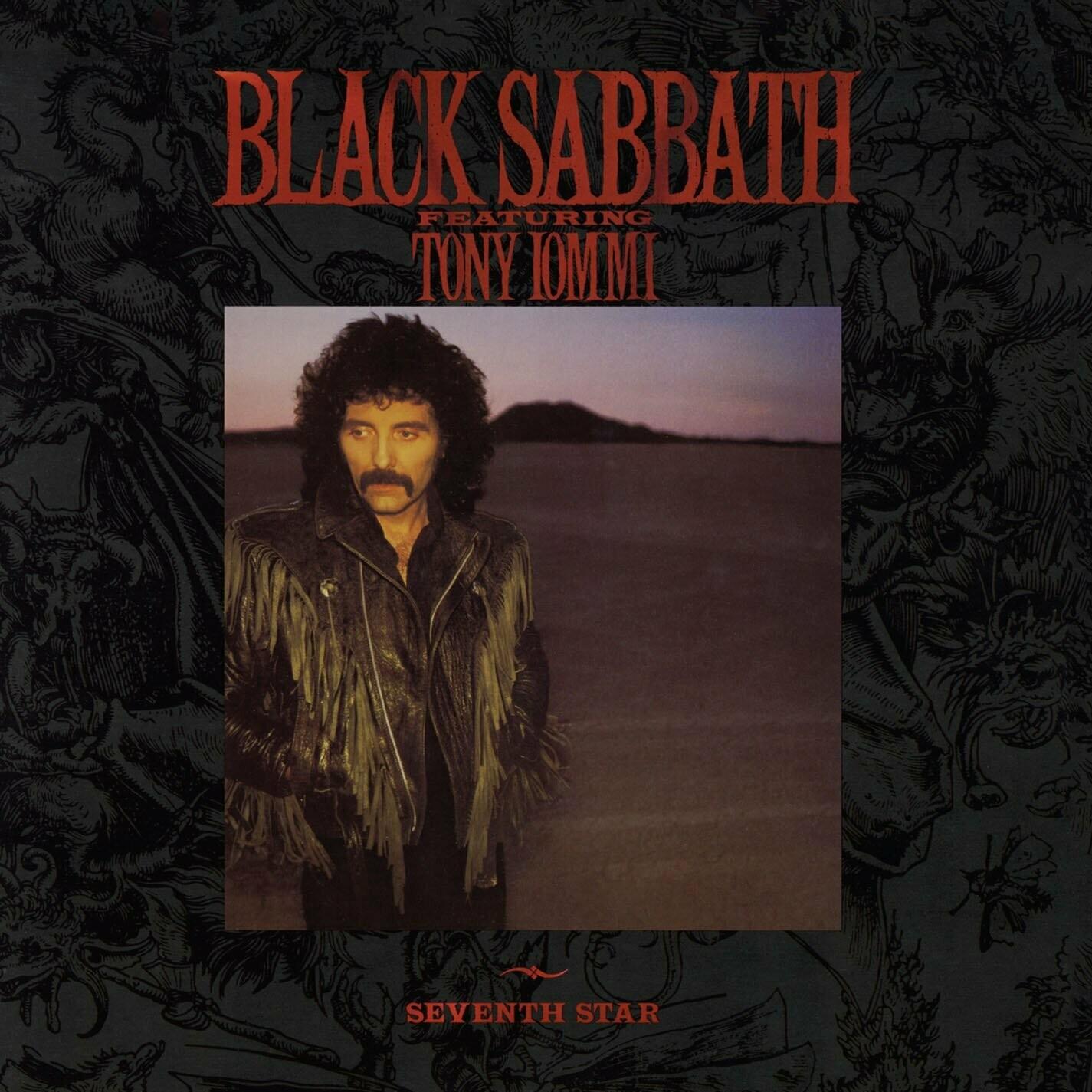 """Black Sabbath feat. Tony Iommi """"Seventh Star"""" EX+ 1986"""
