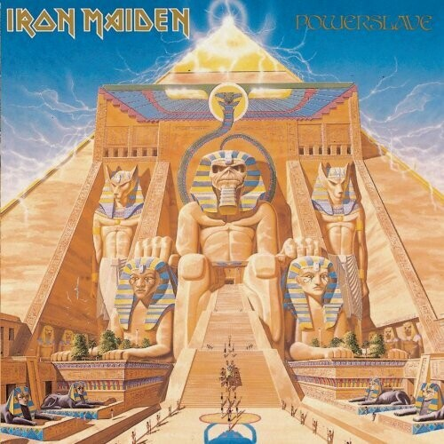 "Iron Maiden ""Powerslave"" NM- 1984"