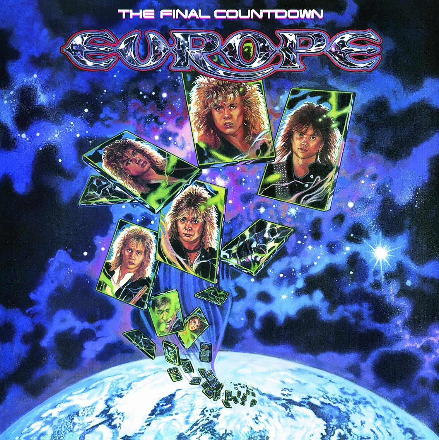 "Europe ""The Final Countdown"" EX+ 1986"