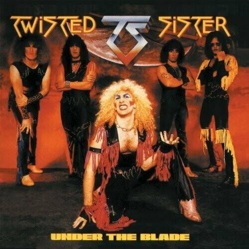 "Twisted Sister ""Under The Blade"" VG+ 1982/re.1985"