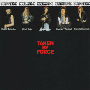 "Scorpions ""Taken By Force"" EX+ 1977"