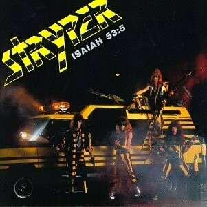 "Stryper ""Soldiers Under Command"" EX+ 1985 *w/inserts!*"