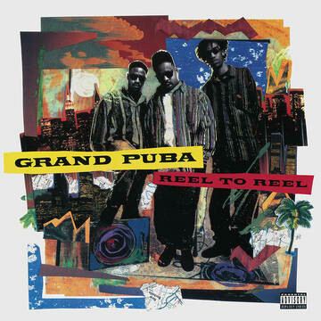 "GRAND PUBA ""REEL TO REEL"" *RSD 2020* {ltd. ed. collored vinyl!}"