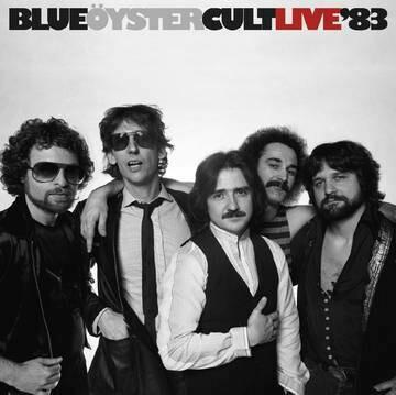 "BLUE OYSTER CULT ""LIVE '83"" *RSD 2020* {2xLPs!} (ltd. ed. 1,500!) [black/blue vinyl!]"
